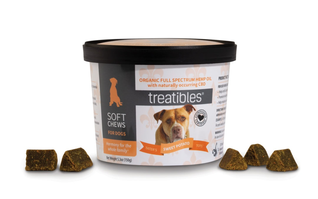 Treatibles and Villalobos Rescue Center are Proud to Introduce Tater's Sweet Potato Tots Soft Chews