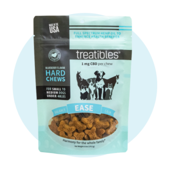 Hard Chews Small Blueberry CBD Treats for Dogs