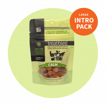 Intro Pack Calm (Turkey Flavor) Hard Chews - 4 mg CBD - For Dogs