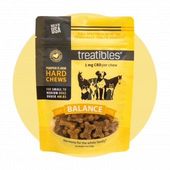 Balance (Pumpkin Flavor) Hard Chews - 1 mg CBD