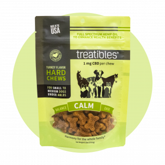 Calm (Turkey Flavor) Hard Chews - 1 mg CBD