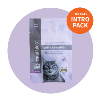 Soft Chewables for Cats, Chicken Liver Intro Pack