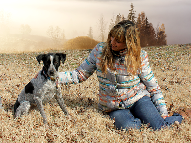 The story of stray pup Delilah and her Treatipet mom Julianna