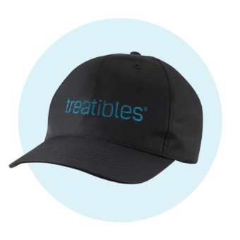 Treatibles Hat black