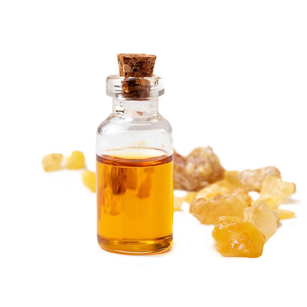 bosweilla oil on white